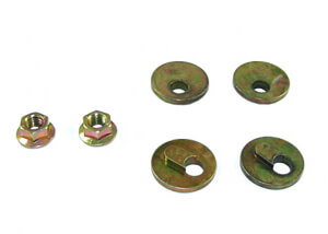 Nolathane Front Radius arm - lower washers for HSV W427 VE - 45572