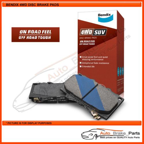 Bendix 4WD Front Brake Pads for TRITON GLX GLXR GLS MK 3.0L 6G72 - DB2160-4
