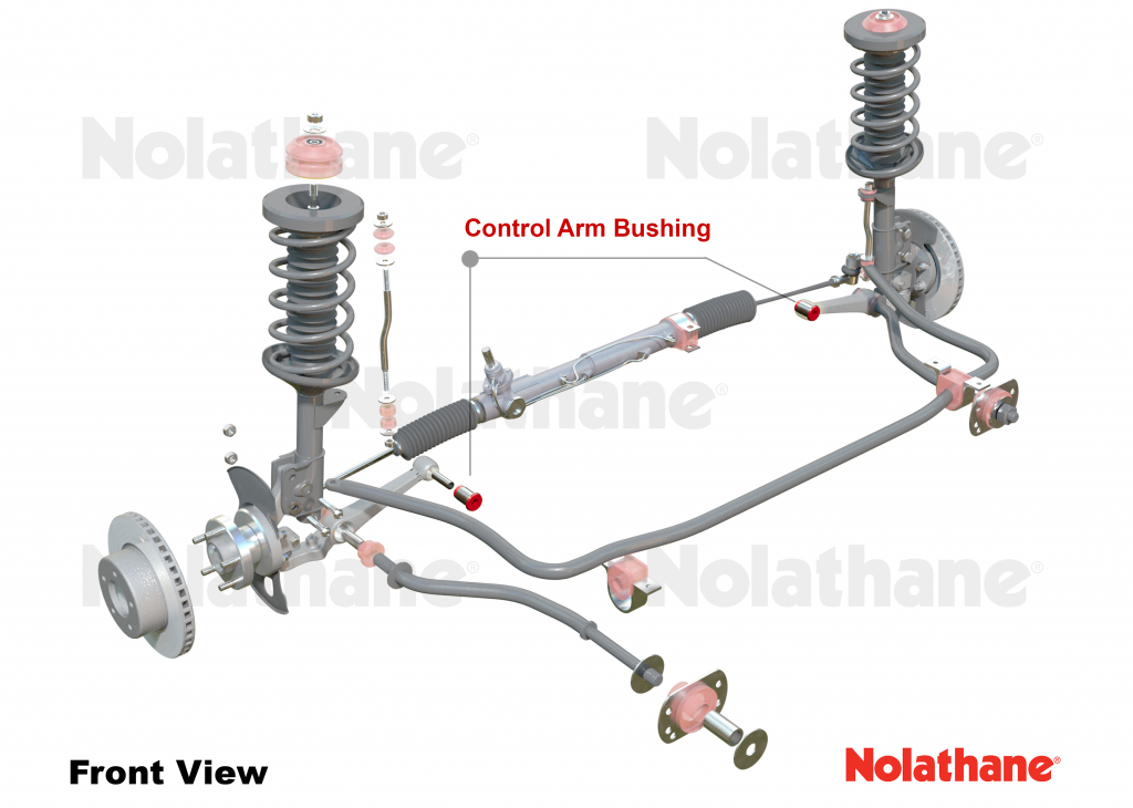NOLATHANE 46003HD H//D CONTROL ARM BUSH FOR COMMODORE VB VC VH VK VL VN VP VR VS