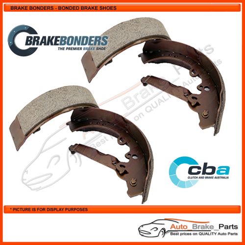 CBA Rear Brake Shoes for NISSAN ATLAS F23 With Front Discs & Double Rear Tyres