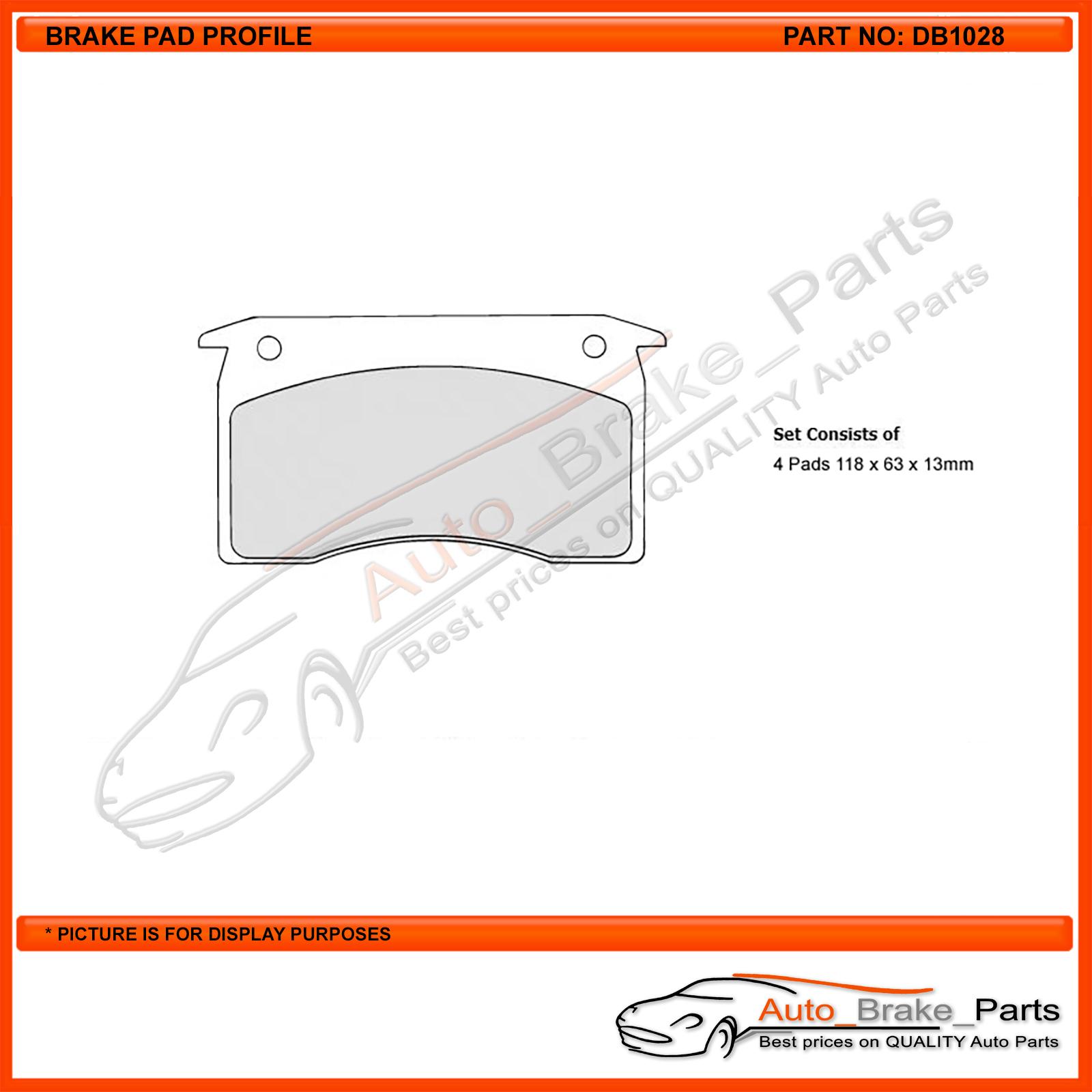 DB625B Protex Blue Brake Pads