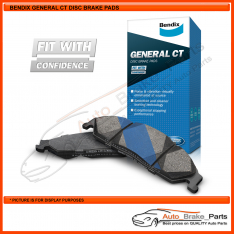 Bendix GCT Rear Brake Pads for OPEL ZAFIRA A 1.8Ltr X18XE - DB1425GCT