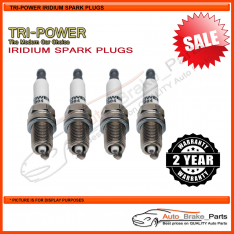 Iridium Spark Plugs for VOLVO V40 Series Wagon VW37 T4 Turbo 147kw 2.0L - TPX006