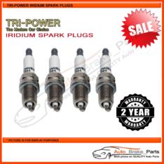 Iridium Spark Plugs for VOLVO V40 Series Wagon VW37 T4 Turbo 147kw 2.0L - TPX006