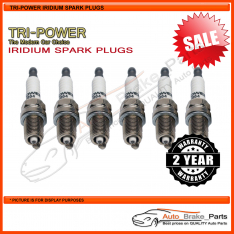 Iridium Spark Plugs for VOLVO XC90 AWD Wagon CZ98 175kw 3.2L - TPX012