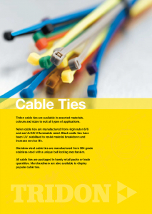 Cable Ties Catalogue