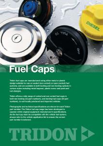 Tridon Fuel Caps Catalogue