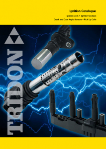 Tridon Ignition Catalogue