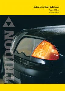 Automotive Relay Catalogue